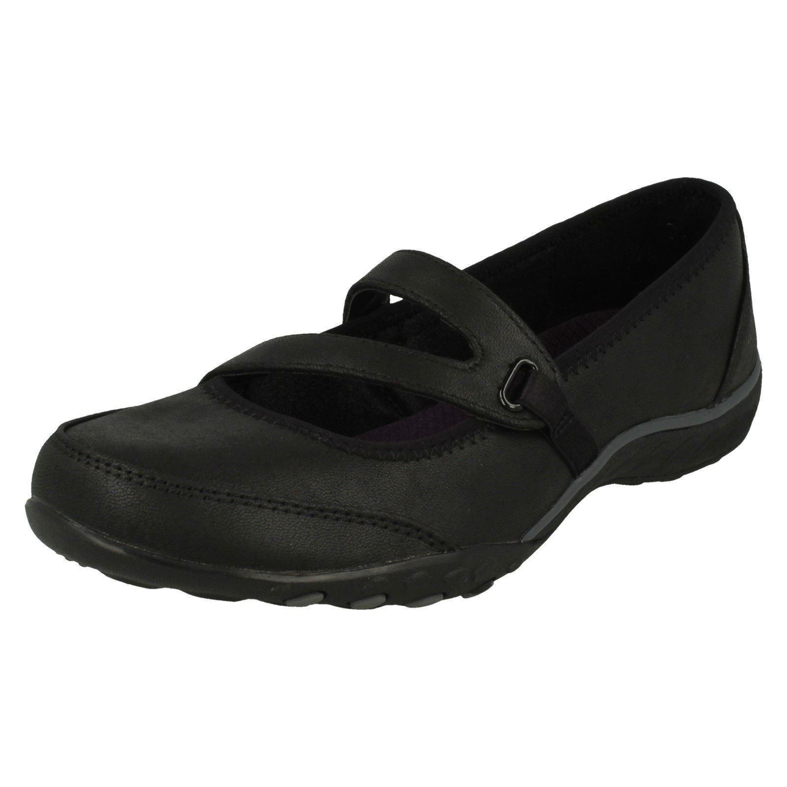 women Skechers Breathe Easy - Calmly shoes Nere Non Stringate