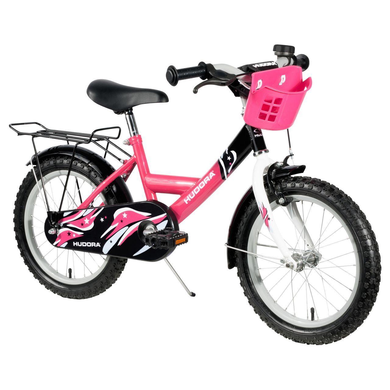 HUDORA HUDORA HUDORA Fahrrad Kinderfahrrad Rosa 16 Zoll d9b1be