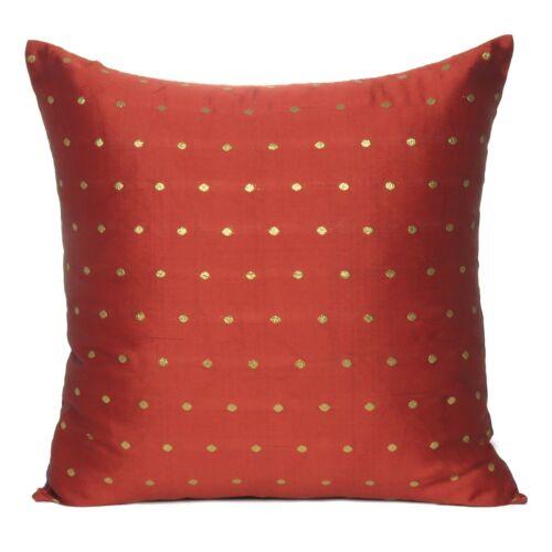 Art Silk Throw Pillow Case Sofa Cushion Cover Square Pillow Cover Set Of 2 Pcs