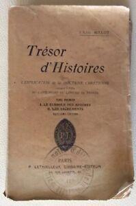TRESOR-D-039-HISTOIRES-POUR-L-EXPLICATION-DE-LA-DOCTRINE-CHRETIENNE-ABBE-MILLOT-1909