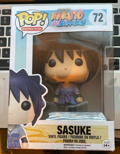 Official Funko Pop Naruto Shippuden Sasuke #72