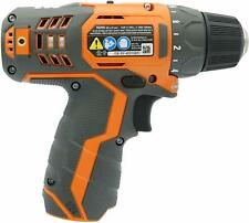 Cordless 2-Speed Driver Drill Kit LED Light Ridgid 12-Volt Lithium-Ion 3//8 in