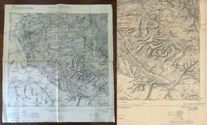 Cartina Militare Piemonte.Cartina Originale Cesana Torinese F 66 1894 I G Militare