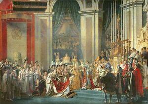 Print//Poster 3588 The Consecration of Emperor Napoleon Jacques Louis David