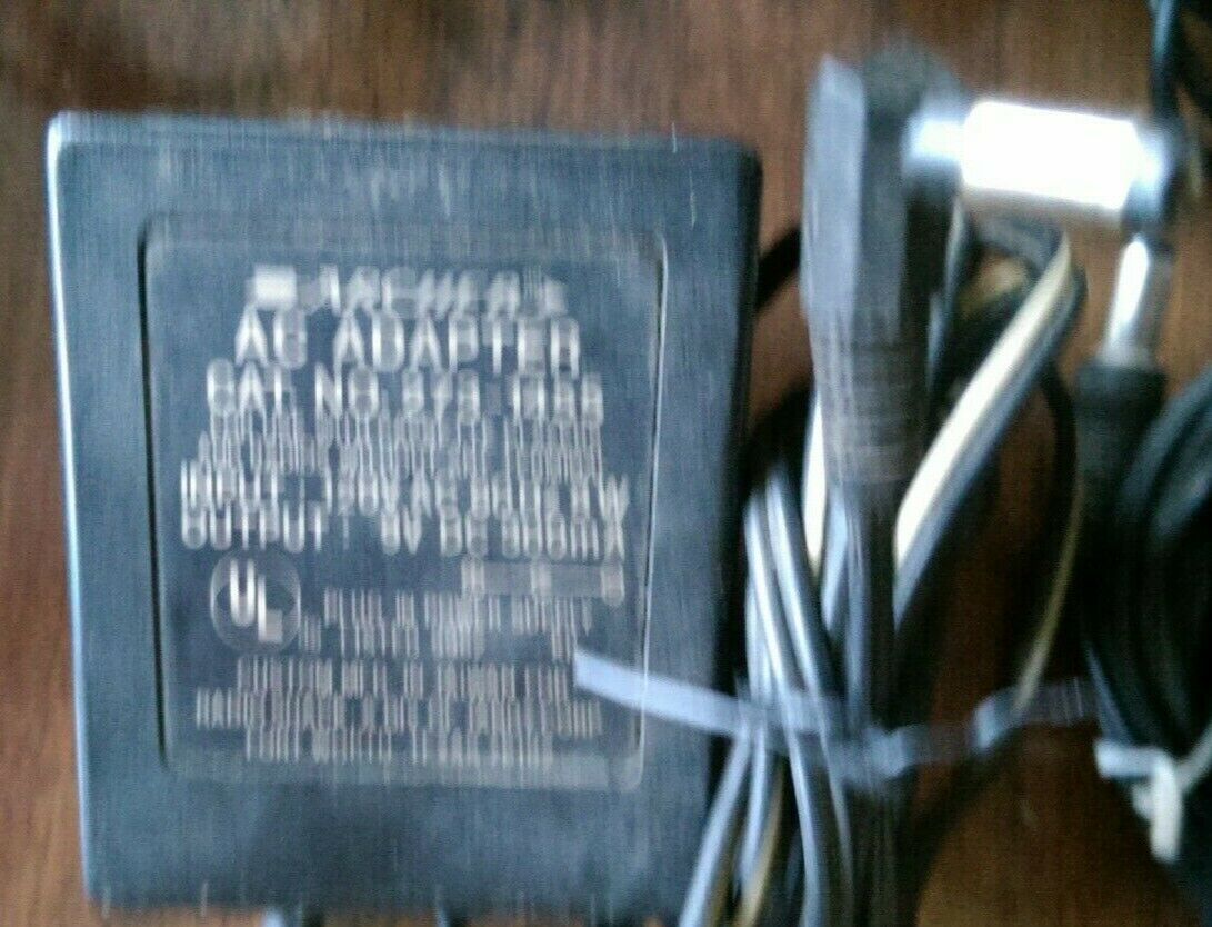 (12) AC/DC wall wart power supplies various output voltage Untested