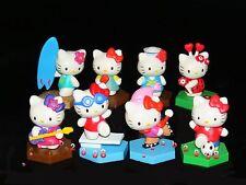 Yujin Hello kitty Sport Collection Gashapon Figure (Full set of 8 figures )