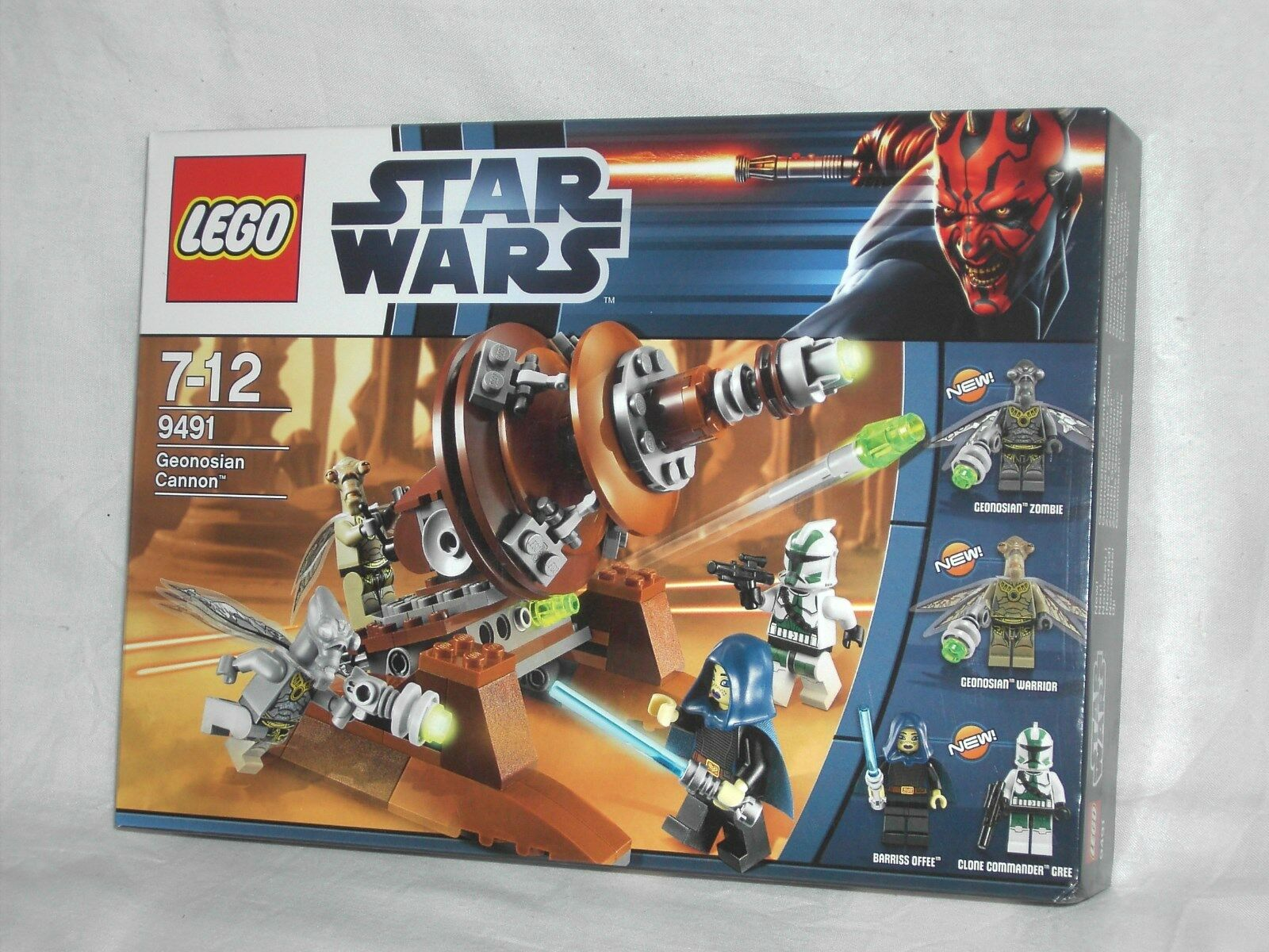 LEGO STAR WARS 9491 - GEONOSIAN CANNON    NEW AND SEALED