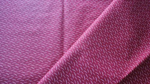 Möwe auf rot Maritim 50 x 140 Beschichtet Baumwolle abwaschbar