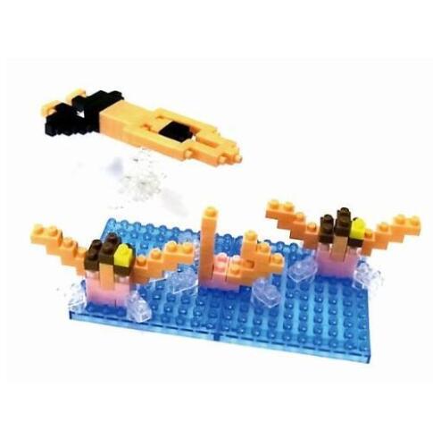 Kawada Nanoblock NBCB_001 Swimming 160pcs