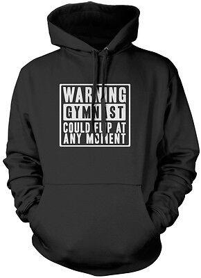 Warning Gymnast Could Flip At Any Moment Gymnastics kids unisex jumper sweatshir