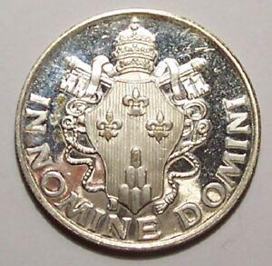 Medaille Paulus Vi Pontifex Maximus In Nomine Domini Ebay
