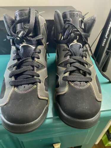 Air Jordan 6 Retro Black Varsity Purple White Vars