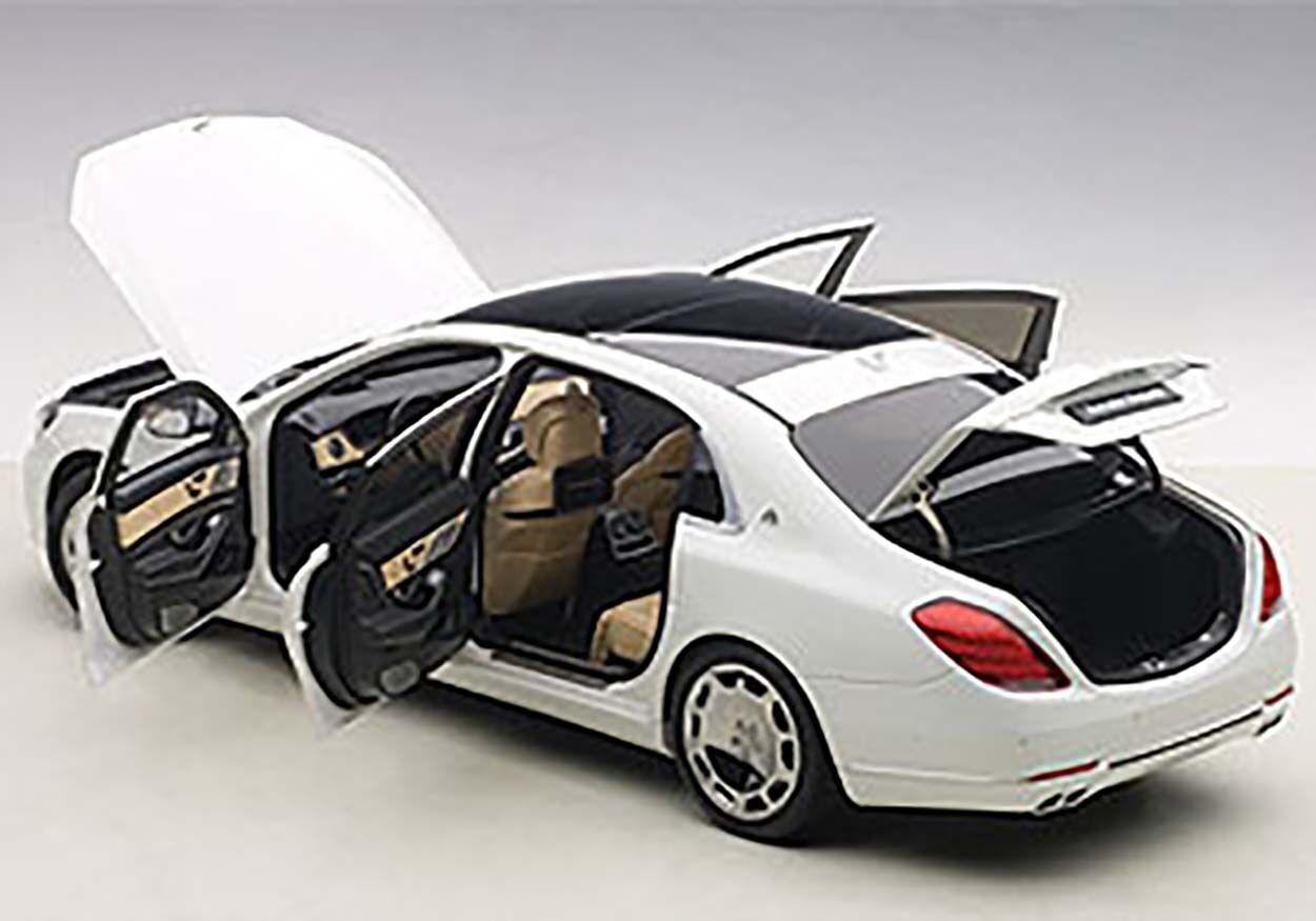 alta calidad Autoart Autoart Autoart Mercedes Benz Maybach S-KLASSE S600 blancoo 1 18 Escala Nuevo  en Stock  Ven a elegir tu propio estilo deportivo.