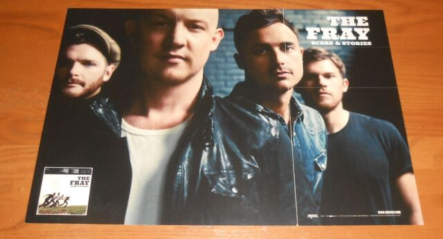 The Fray Poster 2-Sided Flat Square 2012 Promo 12x17