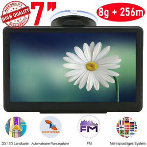 7zoll navigationsger t f r lkw pkw bus navi navigation gps poi blitzer 8gb 256mb ebay. Black Bedroom Furniture Sets. Home Design Ideas