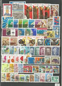 DDR 1975 gestempelt  kompletter Jahrgang gute Stempel