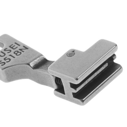 Reißverschluss-Nähfuß für Industrienähmaschine S518N Nähfuß CL
