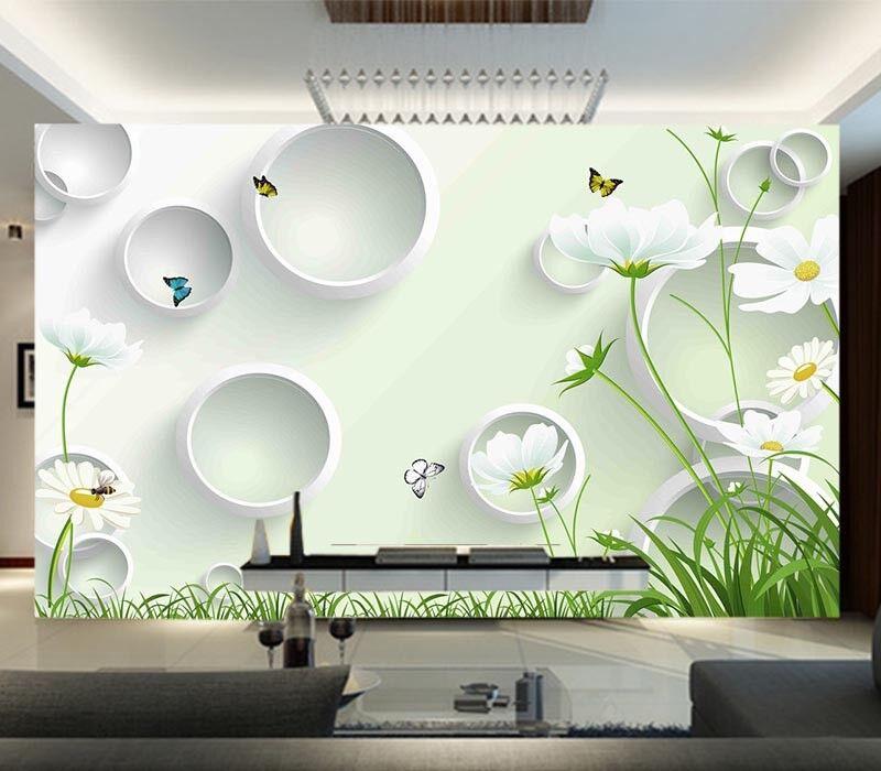 Pure Various Cartoon 3D Full Wall Mural Photo Wallpaper Printing Home Kids Decor