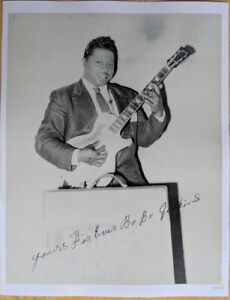BLUES-PUBLICITY-PHOTO-BOBO-JENKINS-with-guitar-DETROIT-Big-Star-Records-repro