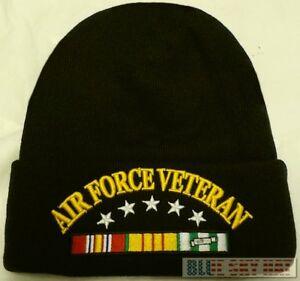 4f5763dde85d90 U.S. AIR FORCE USAF VIET NAM VIETNAM VETERAN VET WATCH CAP BEANIE ...