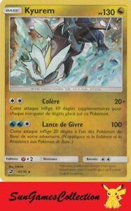 ???? Carte Pokemon Kyurem Holo 47/70 SL7.5 Majesté des Dragons Neuve VF ????