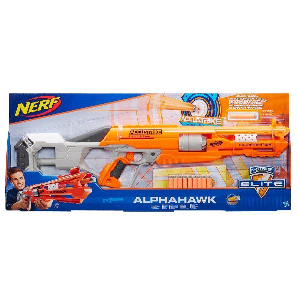 Hasbro Nerf B7784 ACCUSTRIKE Alphahawk Spielzeugblaster  NEUHEIT NEUHEIT NEUHEIT 2017 OVP/ 04264d