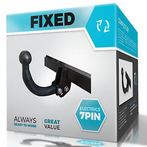 SKODA FABIA 2015-2018 NJ Estate Fixed Swan Neck Towbar with Electric Kit 7Pin