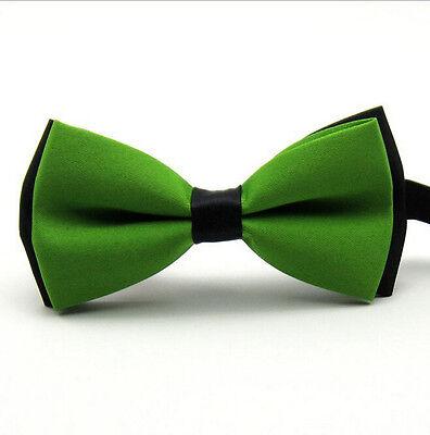 Classic Fashion Novelty Mens Adjustable Tuxedo Bow Tie Wedding Bowtie Necktie