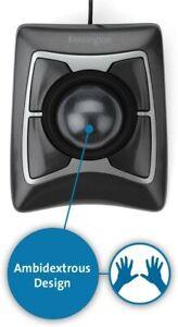 Kensington Expert Mouse Cablato con Trackball, per PC, Mac e Windows