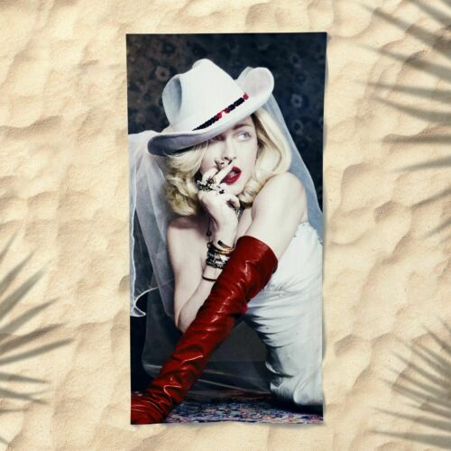 Madonna Towel Beach Summer Bath Pool Gym Pretty Woman