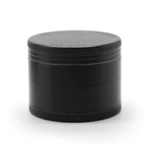 Authentic-Space-Case-Magnetic-Titanium-Tobacco-Grinder-2-5in-63mm-4-Piece
