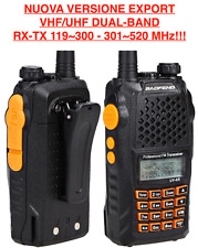 Baofeng UV-6R2 Rtx Portatile Dual-Band 119~300-301~520 MHz VERSIONE EXPORT!