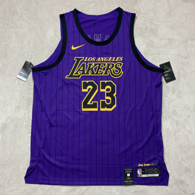 Nike Los Angeles Lakers Lebron James City Edition Jersey Ah6213 ...