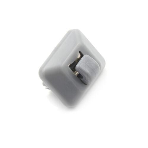 Für A1 A3 A4 A5 Q3 Q5 Q7 Grau Auto Innen Sonnenblende Haken Clip Halte TG