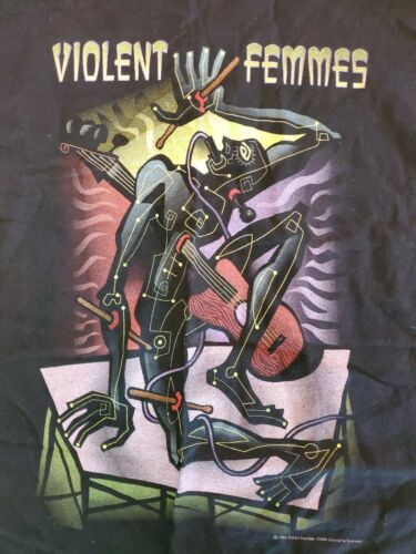 Vintage 1994 Violent Femmes New Times US Tour Shir