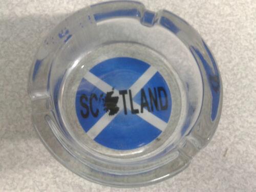 Ashtrays Scottish saltire