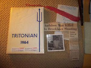 1964-TRITON-REGIONAL-HIGH-SCHOOL-YEARBOOK-RUNNEMEDE-NJ-NEW-JERSEY-PLUS-EXTRAS