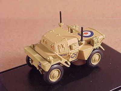 Oxford 1/76 Diecast Daimler Dingo Scout Car, 2nd Div., El Alamein 1942 #76DSC003