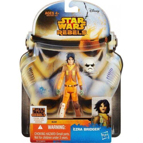 "STAR Wars Rebels SAGA LEGENDS 3.75 /""Action Figure Ezra Bridger SL02 UK Venditore"