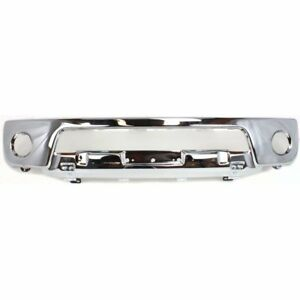 Front Bumper for 2005-2008 Nissan Frontier Chrome Steel 723650327180