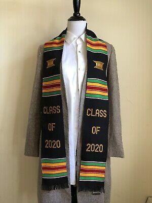 Graduation Stole Kente Custom Handwoven Kente Scarves Scarf College Graduation