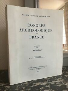 Congresso Archeologico Di Francia 141e Session 1983 Morbihan