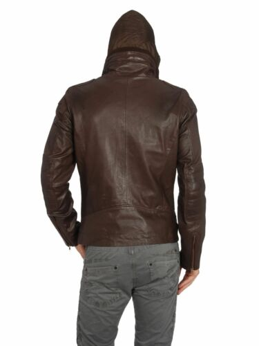 Size Leather Brown S Literal Authentic Diesel Jacket 100 4R6wqgz