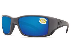 934aff721e1cc Costa Del Mar Blackfin Matte Gray   Blue Mirror 580 Plastic 580P ...