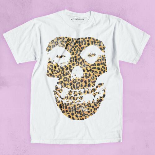 Sex Pistols London Misfits Leopard Totenkopf Aufdruck T-Shirt Aufrührern Stil