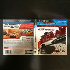 Need For Speed Most Wanted Limited Edition Sony Playstation 3 2012 For Sale Online Ebay