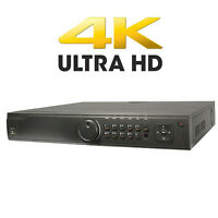 6tb Hdd 4k Hdmi 3840 X 2160 32ch 16 Built-in Poe 160mbps Up To 12 Megapixels Nvr