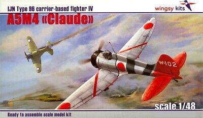 Choroszy Models 1//72 MITSUBISHI A5M4-K TYPE 96 CLAUDE 2-Seat Fighter-Trainer