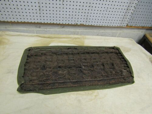"""Jeep Willys M38 M38A1 NOS LOWER rear seat cushion EARLY /""""S/"""" style springs"""