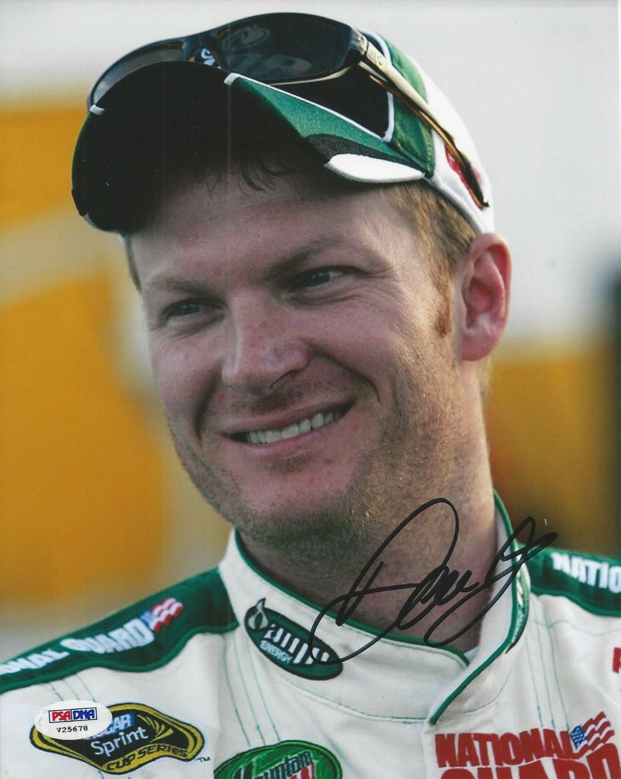Dale Earnhardt Jr. Signed 8x10 Photo PSA/DNA #V25678
